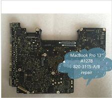 "Fault Logic Board For MacBook Pro 13"" A1278 MD101 MD102 repair 820-3115-A/B 820-"