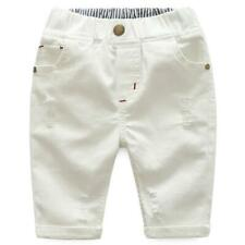 New Kids Baby Boy Girl Denim Skinny Jeans Casual Stretchy Pants Trousers