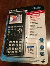 TI-84 PLUS CE BLACK Graphing Calculator New