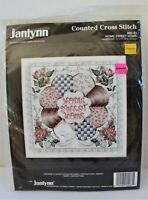 Janlynn Counted Cross Stitch KIT 80-83 HOME SWEET HOME