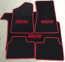 Autoteppich Kofferraummatte Fußmatten Set für Opel Manta B GT/E sw. rot 5teilig