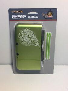 Capcom Aluminum Armor Case for Nintendo 3DS XL Monster Hunter 3 Ultimate Rare