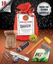 Thankyou Teacher Survival Kit - Fun Novelty Gift