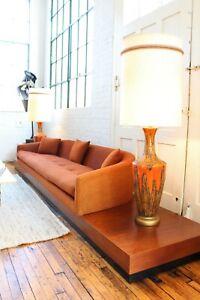 Adrian Pearsall Cloud Platform Sofa Mid Century Modern