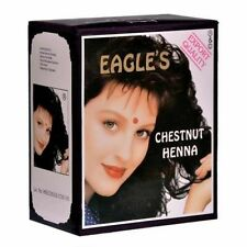 Eagles Henna Color Hair Dye Henna hair - 6 pcs. X 10 gr Chestnut Color