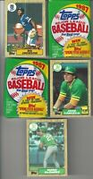1987 Topps Bo Jackson McGwire Canseco Baseball Cards + 2-87 Unopened Wax Packs!