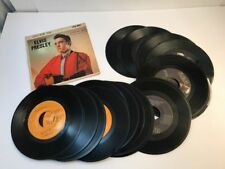 Elvis Presley LOT of 18 Records 45RPM TESTED on my player plus EPA-4041 Sleeve