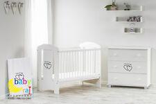 BABY RAJ Lettino Culla 120x60cm -Bianco