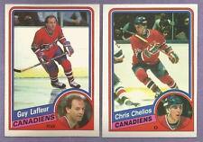 1984-85 OPC Montreal Canadians Team Set