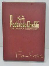 The Godfather Trilogy Collection Coppola Restoration English Portuguese DVD Set