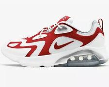Nike Air Max 200 White University Red Mens Trainers UK 14 AQ2568 100 Bnib