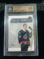 2003 2002-03 UPPER DECK RICK NASH YOUNG GUNS ROOKIE BGS 9.5 232 BLUE JACKETS