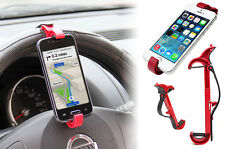 Car Bike Steering Wheel Mount Phone Holder for iPhone 6S 6 5S 5 4S 4 Samsung HTC