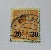 c1925 Denmark  SC #176  Used stamp