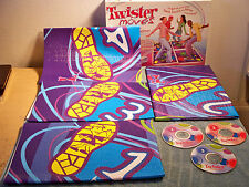 2003 Hasbro Twister Moves Dance Game w/3 CD's, 4 Mats & 144 Total Dance Sessions