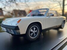 AUTOart 1:18 Porsche 914-6  white Perfekt!!  by RACEFACE-MODELCARS