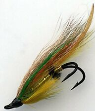 Salmon Flies GREEN HIGHLANDER Doubles sizes 4- 10 Pack of EIGHT (8) #162