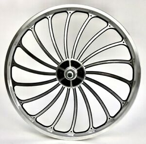 20 Inches Alloy Rims Front Wheel 18 Spokes Jet Engine Deore Disc