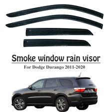 For 2011-2020 Dodge Durango Rain Guard Side Window Visor Vent Cover Smoke-Style