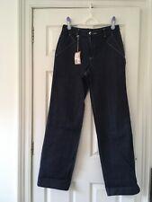 BNWT A.P.C. jeans waist 29 x length 34. Straight leg, dark blue white stitching