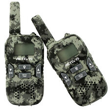 1Pair Walkie-Talkie 22Ch 0.5W Uhf Gmrs/Frs Vox Flashlight Two Way Radio For Kids