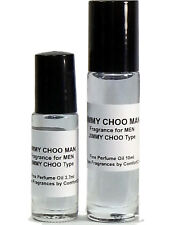 JIMMY CHOO MAN Type 10ml Roll On Perfume Body Oil *NEW