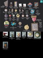 Sport Abzeichen verschiedene Sportarten Anstecknadeln und Broschen AUSSUCHEN