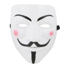 V For Vendetta Mask Fawkes Purge Anonymous Costume Mask Wall Street Costume