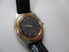 MENS FOSSIL WATCH, MODELVT-2448, RUNNING WELL-HAS SUB DIAL,