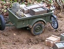 1:18 21st Century WWII U.S CUSTOM JEEP TRAILER  XD 1/18 scale