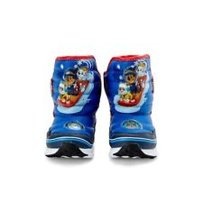 Paw Patrol Toddler Boys Light Up Snow Boots NEW!