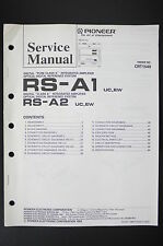 Pioneer rs-a1 rs-a2 digital Reference System Service-Manual/esquema eléctrico o102