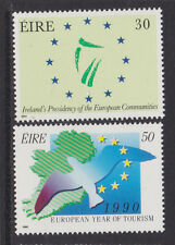 IRELAND, Scott #763-764, MNH, 1990 EC Presidency/Tourism Year - Complete