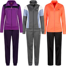 PUMA Damen Sport Running Fitness Mode Trainingsanzug mit Hose rosa violett neu