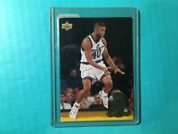 CALBERT CHEANEY 1993-94 UPPER DECK ROOKIE STANDOUT INSERT CARD #RS13 BULLETS