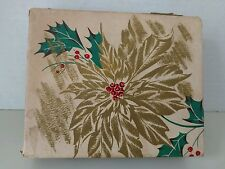 Vintage Christmas Card Box.