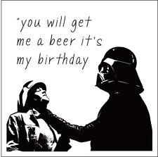 Star Wars Carte D'anniversaire/Starter