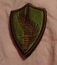 ARMY PATCH, U.S. CENTRAL COMMAND ,BROWN BORDER  ,MULTI-CAM,SCORPION, WITH VELCR