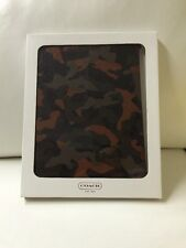 NWT Coach HPC Molded Ipad Case  F64219 Camouflage  $128