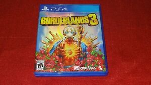 PS4 BORDERLANDS 3 - for Playstation 4 Video Game Console w/ Skin Pack Content