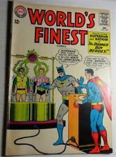 Worlds Finest #147 Feb 1965 Superman Batman Aquaman Vg - 3.5
