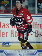 105 Patrick Zetterberg Hannover Scorpions DEL 2001-02