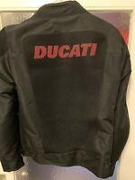 DUCATI Jacke, SPIDI FLOW 2 Sommer Textiljacke perforiert Jacket schwarz NEU !