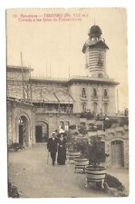 barcelona , tibidabo , entrada a las salas de exposiciones , barcelone