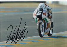 ROMANO Endurance Firmato a Mano 7x5 Foto San Carlo team Italia moto 3 MOTOGP 1.