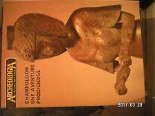 ** Archéologia n°52 Champollion / armes médiévales / l'étain dans l'antiquité