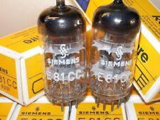 Siemens & Halske E81CC 1960s NOS NIB 3-MICA 12AT7 ECC81