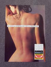 F857 - Advertising Pubblicità - 1988 - ONDAFLEX RETE ORTOPEDICA