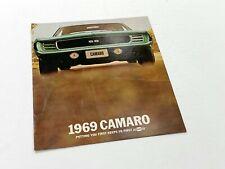 1969 Chevrolet Camaro Brochure