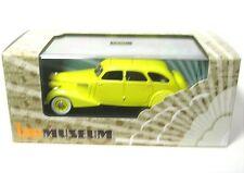 Berliet 11cv Dauphine 1939 Yellow 1 43 Ixo Mus055 Model MMC